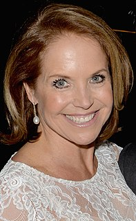 Katie Couric American television and online journalist