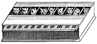 Cat organ - from Gaspar Schott, Magia Naturalis (1657)