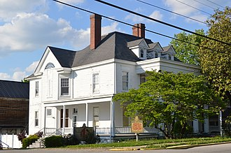 National Register of Historic Places listings in Anderson County, Kentucky - Image: Kavanaugh Academy building