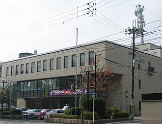 Kyoto Broadcasting System - Headquarters of Kyoto Broadcasting System in Kamigyo-ku, Kyoto, Japan