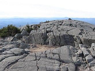 Mount Kearsarge (Merrimack County, New Hampshire) - Summit of Mt. Kearsarge