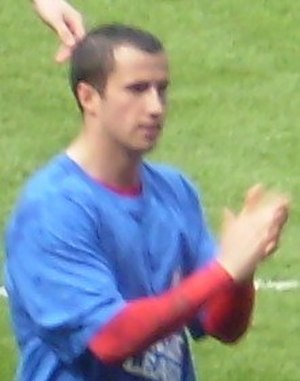 Keith Fahey - Fahey celebrating Birmingham's promotion to the Premier League in May 2009