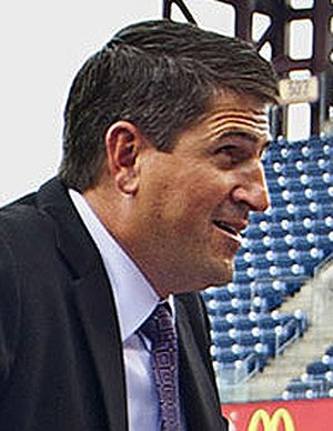 Keith Jones (ice hockey) - Jones announcing the 2012 Winter Classic