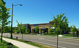 Keizer, Oregon - Keizer Station shopping center in Keizer