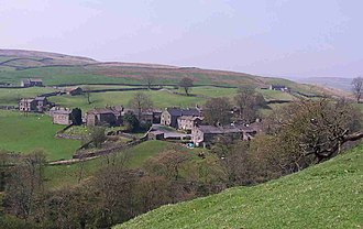 Keld, North Yorkshire - Image: Keld from Pennine Way