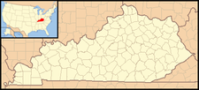 Hyden is located in Kentucky