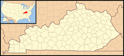 Lexington tī Kentucky ê ūi-tì