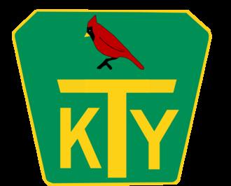 Interstate 65 in Kentucky - Kentucky Turnpike shield