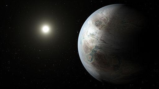 Kepler-452b artist concept