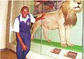 Kevin Macharia at the museum in Nairobi.jpg