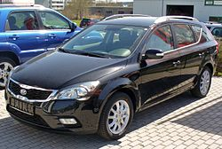 Kia cee'd SW po face liftingu