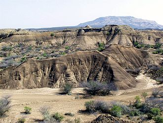 Omo Kibish Formation - Omo Kibish Formation rocks near the town of Kibish, where the human fossils were discovered