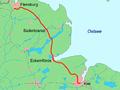 Kiel - Flensburg Karte.png