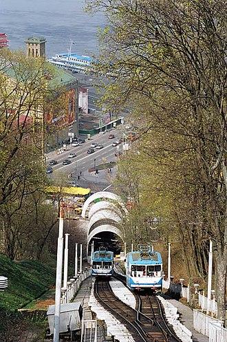 Transport in Kiev - Kiev funicular