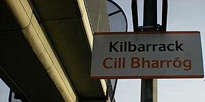 Kilbarrack - Kilbarrack railway station