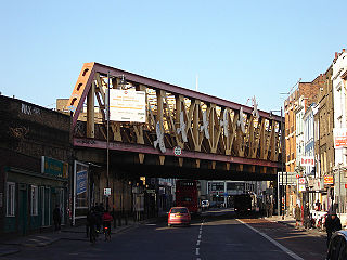 road in the London Borough of Hackney, London, England, part of the A10