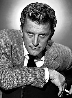 Kirk Douglas American stage and film actor