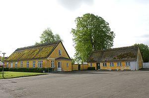 Værløse - Image: Kirke Værløse old houses