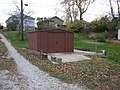 Kirkwood Avenue West 919 outbuilding foundation, Bloomington West Side HD.jpg
