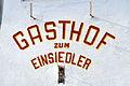 Klagenfurt Kinkstrasse 2 Gasthof zum Einsiedler Wandaufschrift 19112008 03.jpg