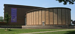 Momente - Kleinhans Music Hall in Buffalo, New York, venue for the North American premiere of Momente on 1 March 1964