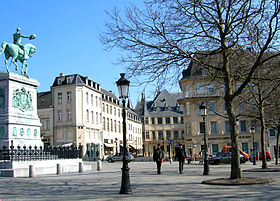 La place Guillaume II