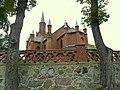 Kościół - p.w Św Katarzyny Aleksandryjskiej w Grylewie - widok z drogi - panoramio.jpg