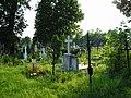 Kościelec - cmentarz, część z lat 40. i 50. XX w. (26.VI.2006).JPG