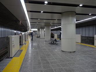 Kokuryō Station - Image: Kokuryo Station platform 20120819