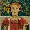 Koloman Moser - Elisabeth Steindl, Nichte des Künstlers - 6229 - Belvedere.jpg
