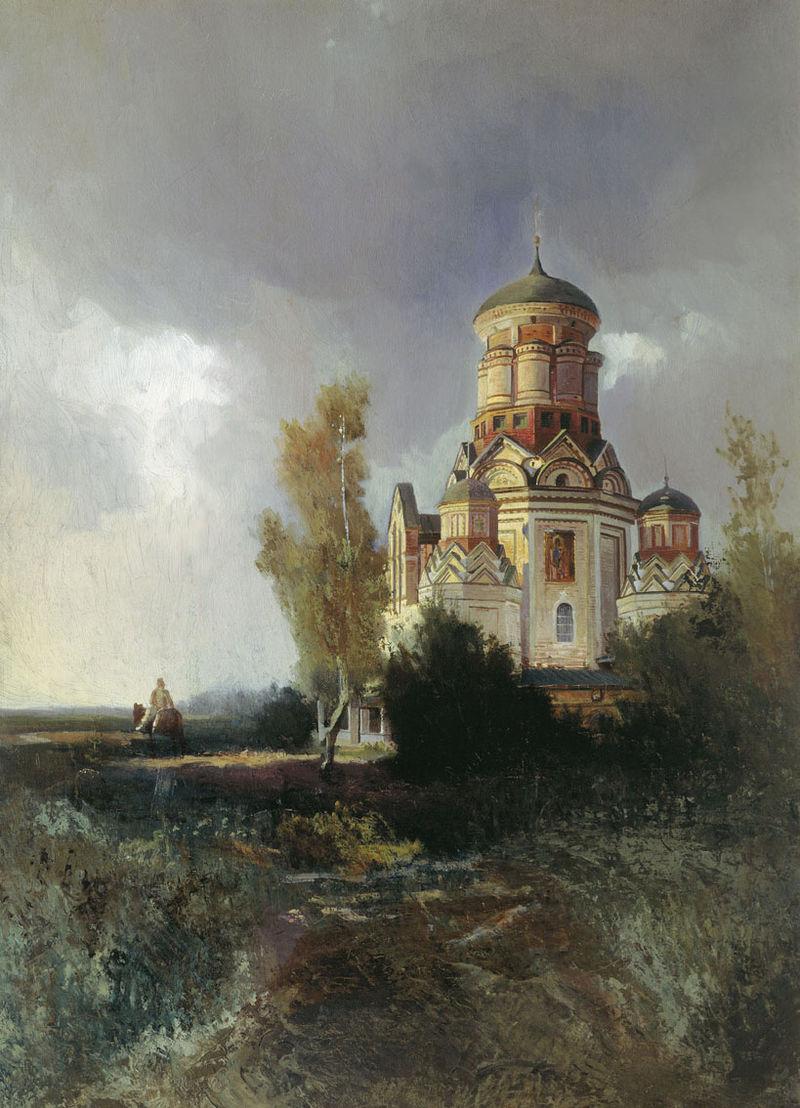 https://upload.wikimedia.org/wikipedia/commons/thumb/e/ed/Kolomenskoye_Dyakovo-cerkov_Makovsky.jpg/800px-Kolomenskoye_Dyakovo-cerkov_Makovsky.jpg