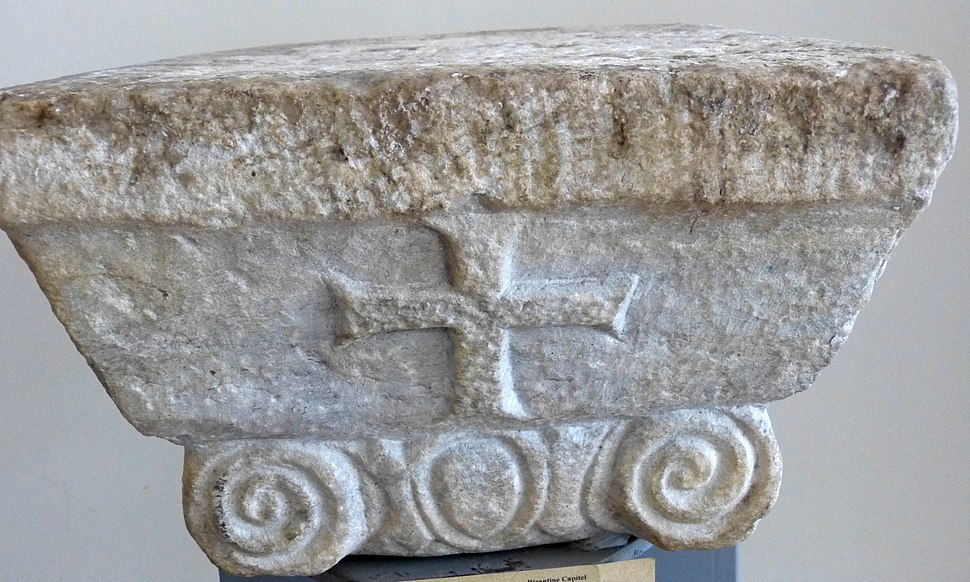 Korçë NMMA - Durres Byzantinisches Kapitell