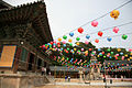 Korea-Gyeongju-Bulguksa-Daeungjeon and lanterns-01.jpg