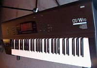 An image of a Korg 01/Wfd