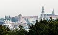 Krakow-Wzgorze Wawelskie i Klasztor na Skalce.jpg