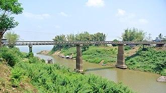 Kratié Province - A bridge in Kratié