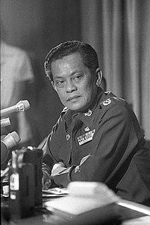 Kriangsak Chamanan Thai politician