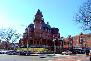 Newark, New Jersey - Krueger Mansion in Newark's Central Ward