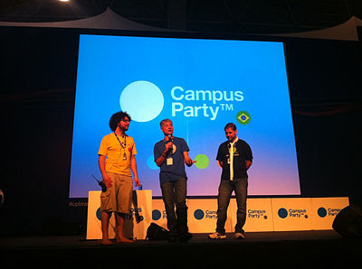 Kul and Philippe Campus Party 2011.jpg