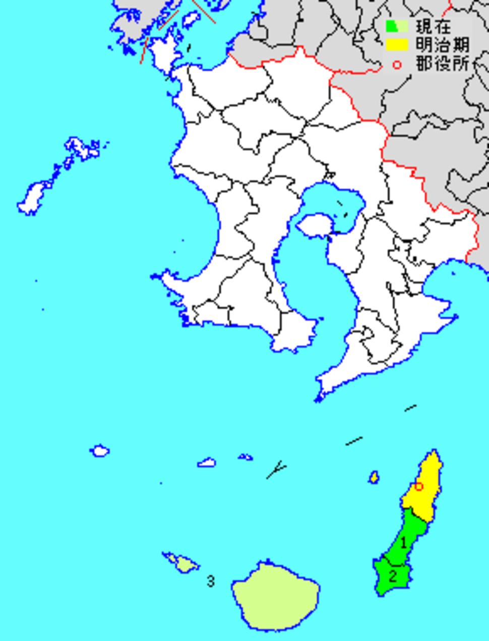 Kumage District in Kagoshima Prefecture