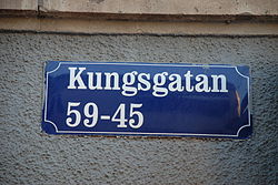 Sa fick stadens gator sina namn