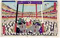 Kuniaki II Bow dance 1877.jpg