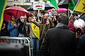 Kurdish protesters attend a demonstration against Turkey's military action (48915130133).jpg