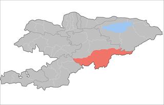 At-Bashy District Raion in Naryn Region, Kyrgyzstan