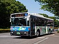 Kyushu Sanko Bus Yoka Eco Bus Space Runner RA273KAN at Eco Life Fair 2018.jpg