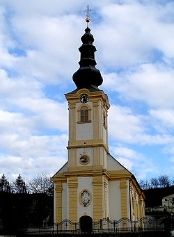 Old Serbian Orthodox Church in Beočin