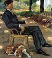 L'Homme au chien par Ernest Rouart.jpg
