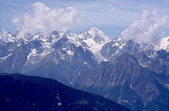 Argentière Hut - The Aiguille d'Argentiere