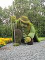 L'homme qui plantait des arbres Détail 2 - Montréal (Canada).JPG