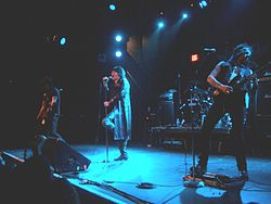Live-Konzert der L. A. Guns in Poughkeepsie (New York), 2008.